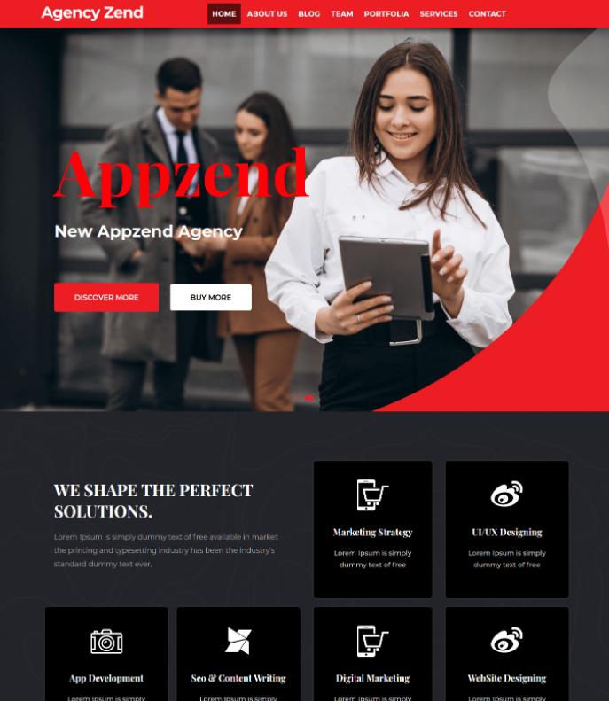 Agency Zend Red