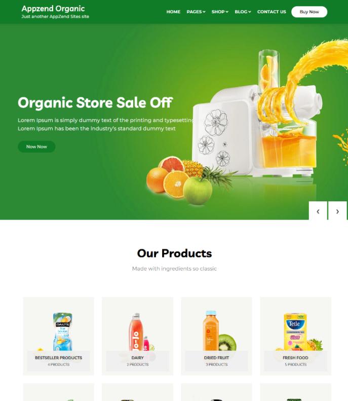 Organic, AppZend