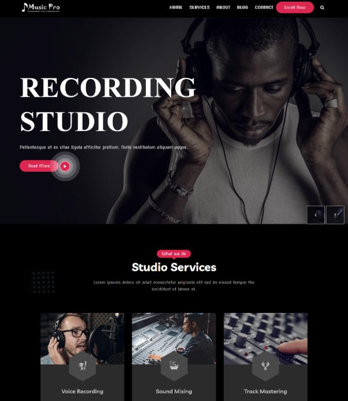 Music Pro, Appzend, Sparkle Themes