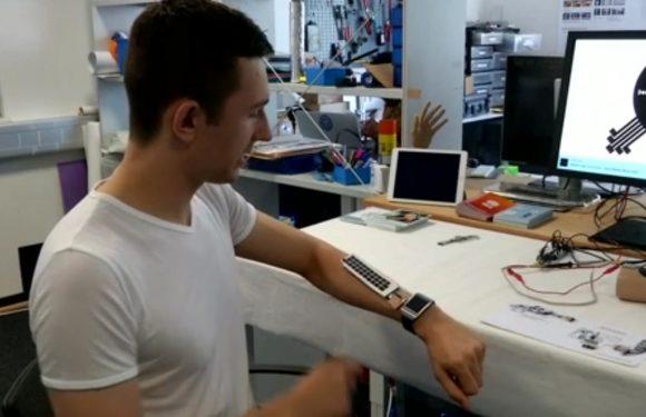 Electronic Skin Sensors Mauris Gravida Control