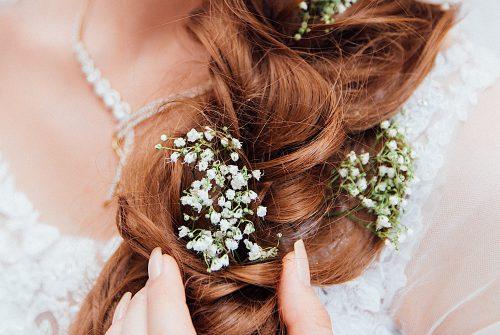Beautiful Hair Design for Beautiful Bride, Krish North