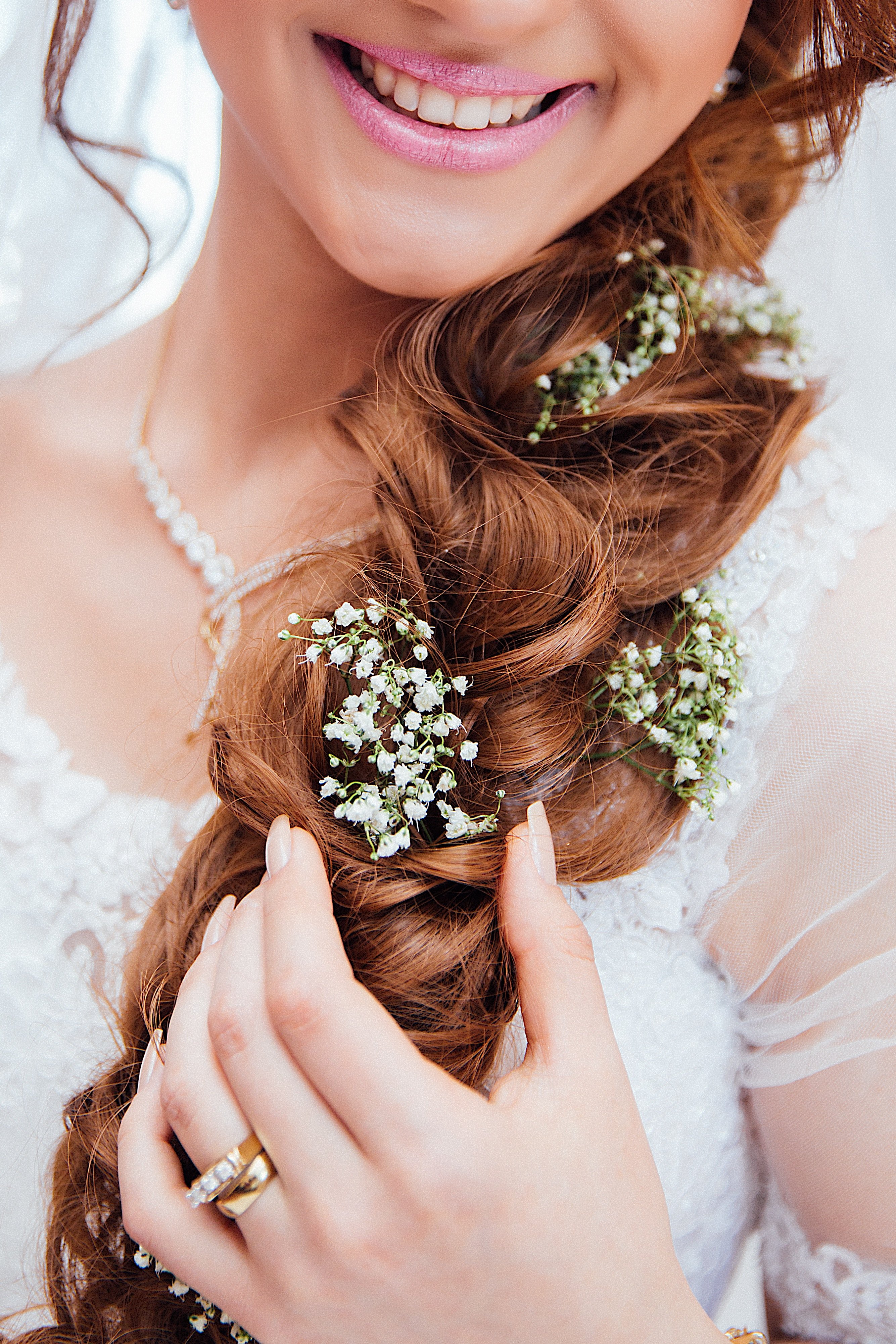 Beautiful Hair Design for Beautiful Bride, Krish North