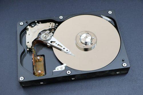 Hard Disk a HardDisk Drive Mauris Gravida