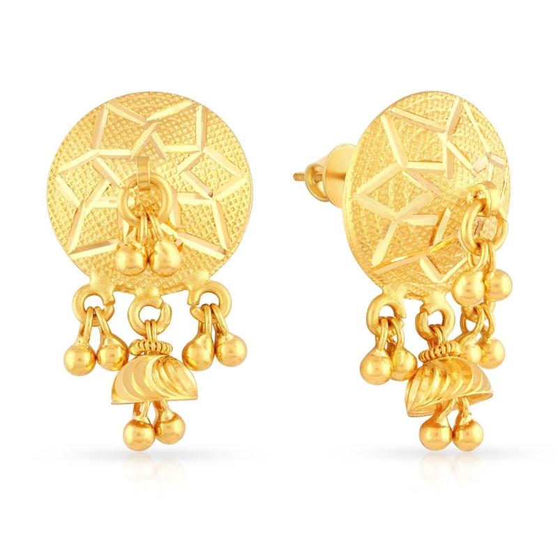 Flying Malabar Gold Earring – Jewellery Store