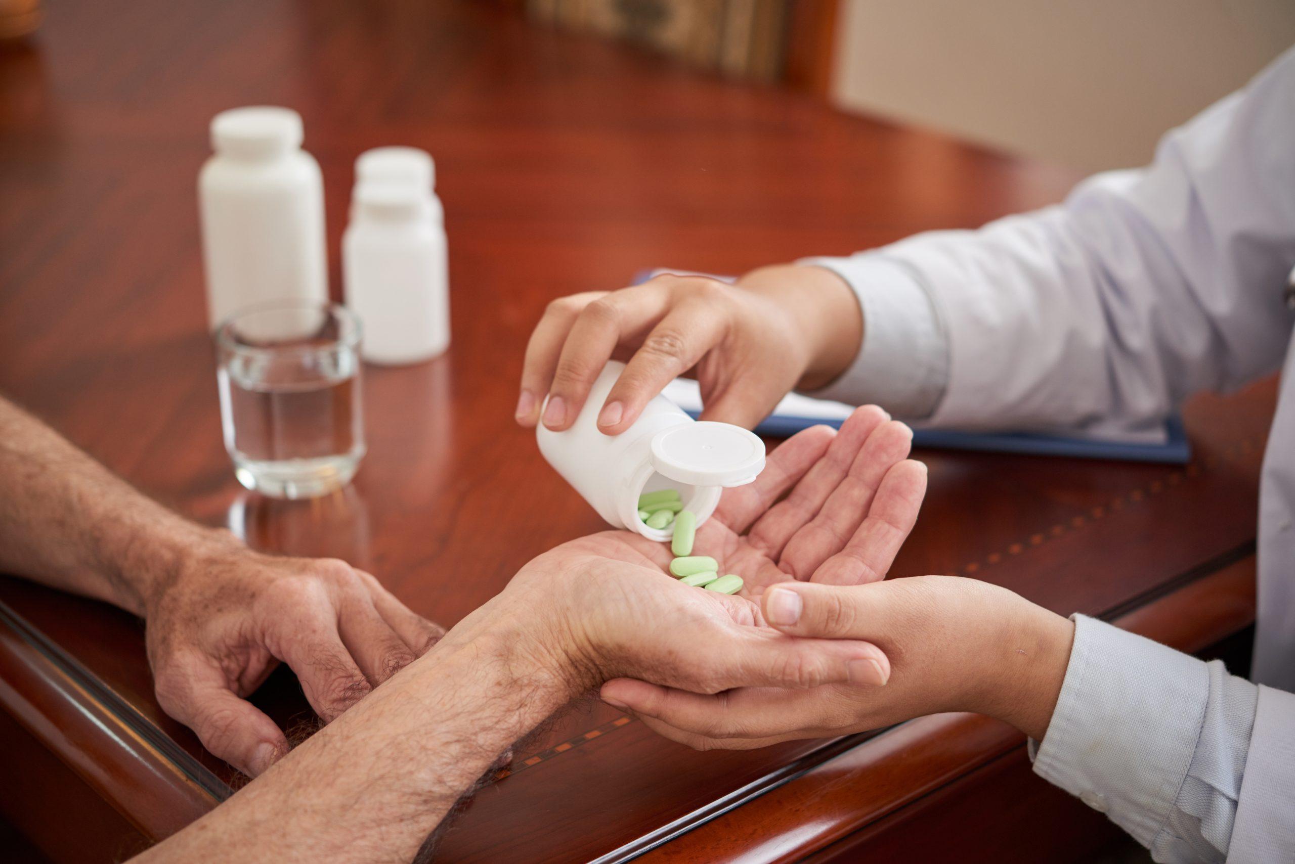 Giving Medicine
